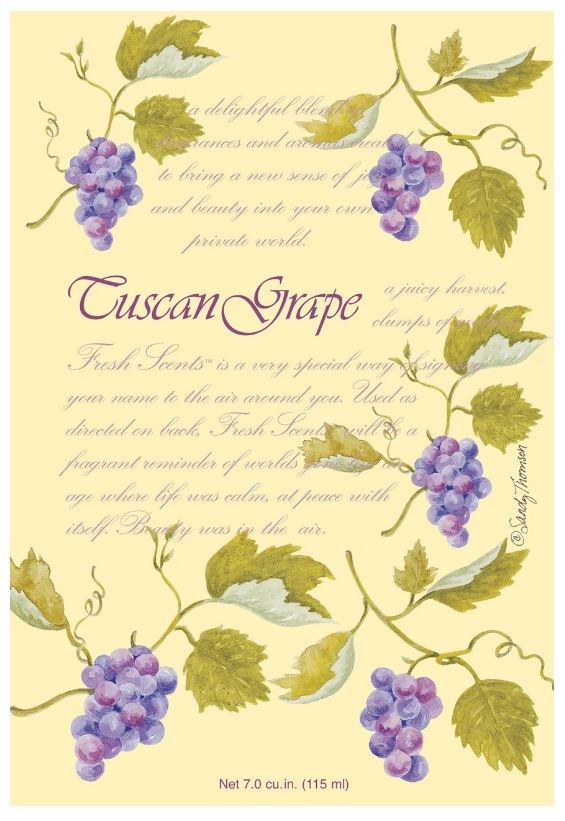 Саше Tuscan Grape FS200176